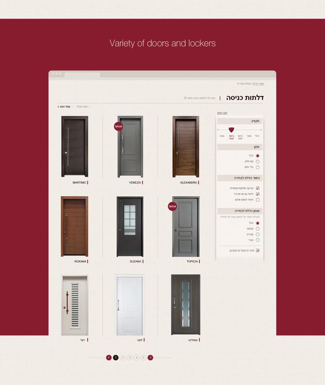 RB Doors website  sc 1 st  Cargo Collective & RB - Doors - ALONA